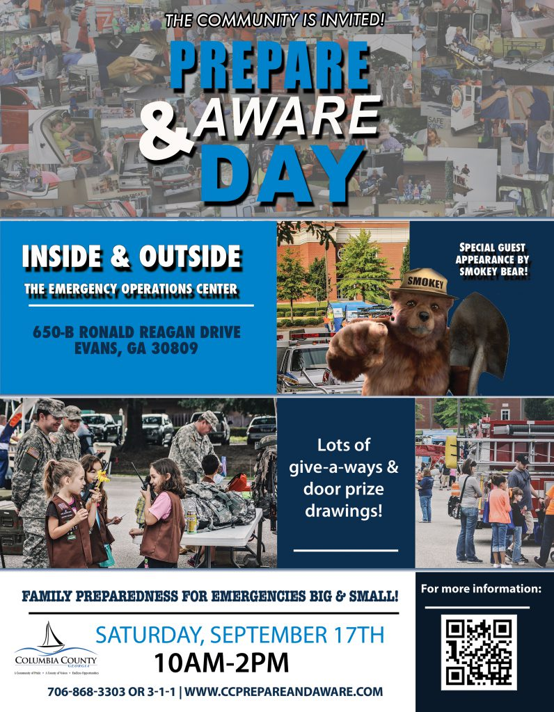 2016 Prepare and Aware Day Flyer